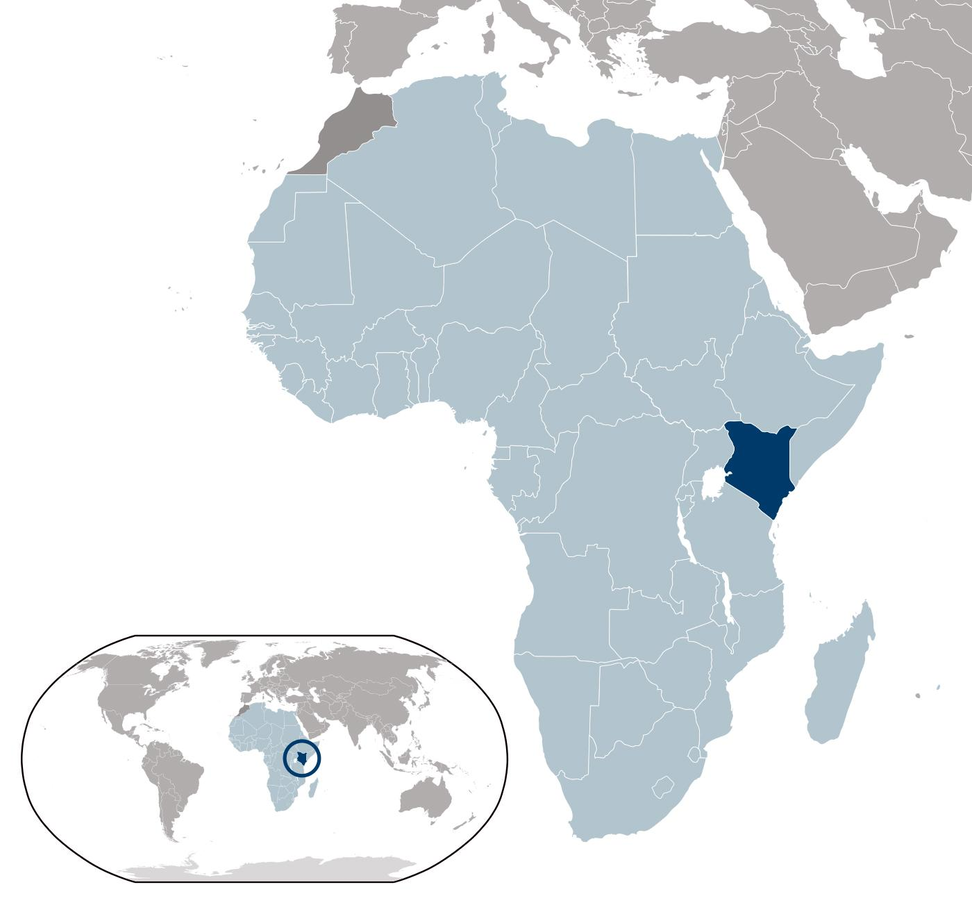 Kenya Location On World Map.Kenya Location On World Map Kenya Map Location Eastern Africa