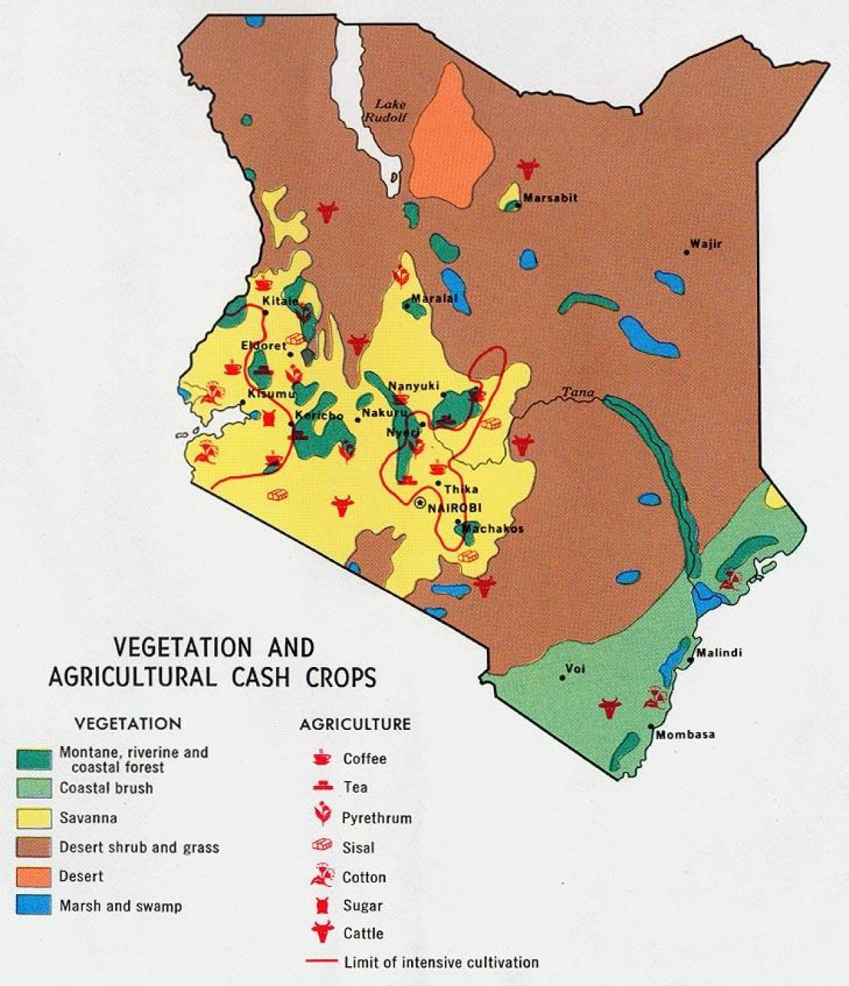 Map Of Africa Natural Resources.Kenya Natural Resources Map Map Of Kenya Natural Resources